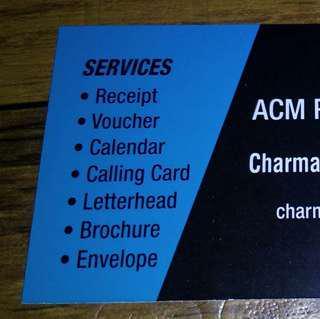 ACM Printing Press