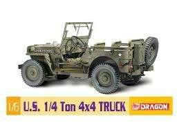 US ARMY 1/6 SCALE 4X4 TRUCK JEEP DRAGON MODEL KIT NEW MISB!!!
