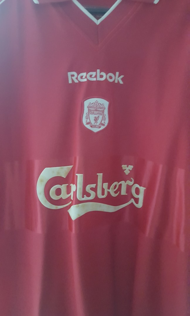 c16557883 2000 01 Liverpool home jersey