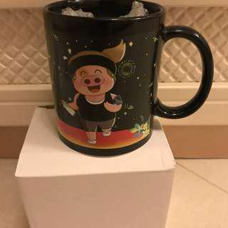 麥兜 必理痛X麥太 別注版 溫度變色杯 水杯 茶杯 咖啡杯