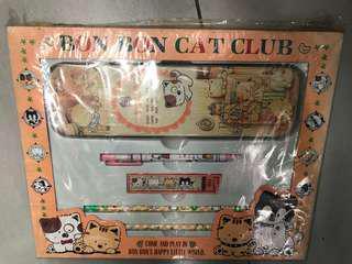 絕版Bon Bon cat club 文具套裝