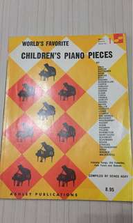 World 's Favorite Children's Piano Pieces