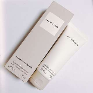 $118 Narciso for Narciso Rodriguez   body lotion 75ml 粉嫩香味身體露