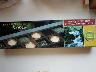 new in box! Sarah Peytom Home Tranquility decorative feature