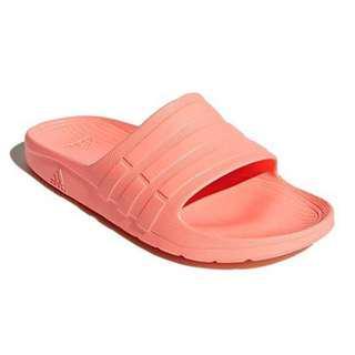 ADIDAS Duramo Slide 防水拖鞋 粉嫩色系海灘防水拖鞋 女 輕量防水拖鞋 CG2795