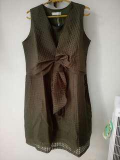 Chlorine Dress /gaun formal
