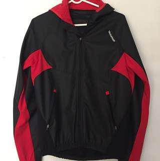 Red/Black Bikey Jacket Hoodie!