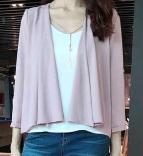 粉紅色外套Zabara