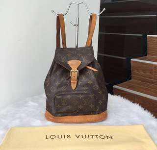 LV bagpack (authentic)