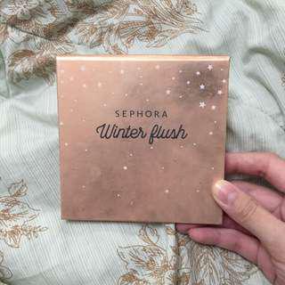 Sephora winter flush 4 in 1 blusher