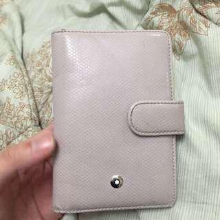 Mont blanc fold wallet