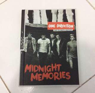 ONE DIRECTION MIDNIGHT MEMORIES THE ULTIMATE EDITION ALBUM
