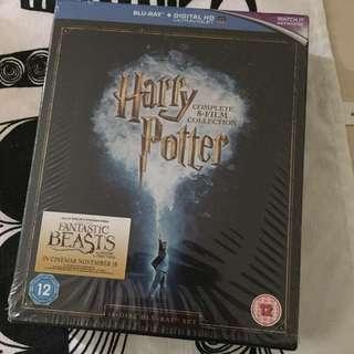 藍光 哈利波特全八集 Harry Potter 16Bluray 全區 英字