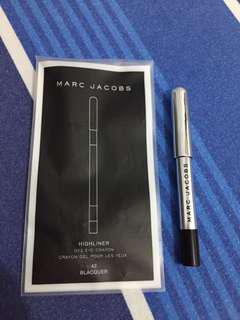 Authentic Travel Size Marc Jacobs Highliner in Blacquer