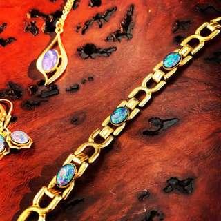 Antique Australian Opal bracelet