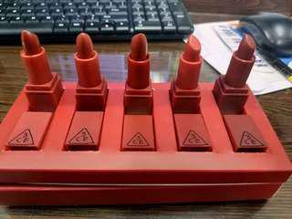 3CE stylenanda red version