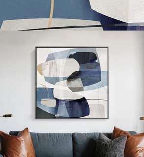 Sale⭐️ Blue Ombre wall art