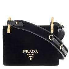 WTB*** Prada Velvet Shoulder Bag Nero
