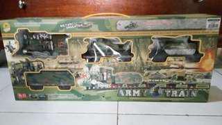Military Equipment Army Train