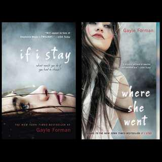 If I Stay / Where She Went - Gayle Forman