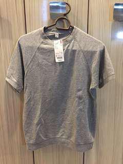 Uniqlo washed raglan short sleeve shirt