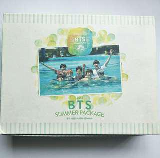 [CLEARANCE] BTS Summer Package 2015 Outbox