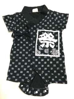 Very cute Japanese festival kimono style onesie