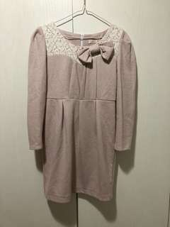 斯文連身裙 size M dress #gogovan50