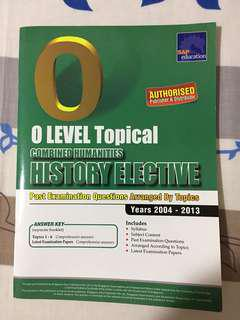 O Level History Elective