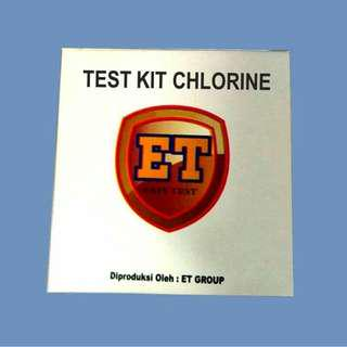Test Kit Chlorine