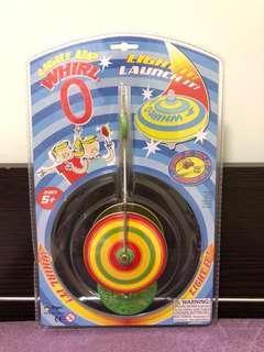 發光陀螺 Magnetic light up spinning top & launcher whirl