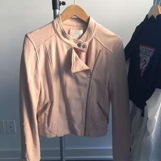 LIGHT PINK ARITZIA JACKET SIZE 6
