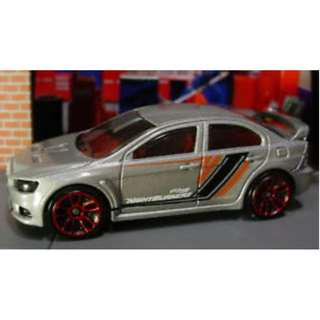 Hotwheels 2018 Nightburnerz Mitsubishi Lancer Evolution X Rare