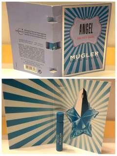 hkd10/1.2ml/支 mugler angel fruity fair eau de toilette 荔枝味