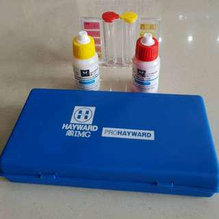 Test Kit Chlorine dan pH merk Hayward