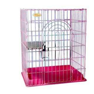 日式貓籠 UG 專利貓籠 M號 雙層貓籠 居家貓籠 貓屋 附層板 專利烤漆免死角防鐵鏽 無須任何工具可組合