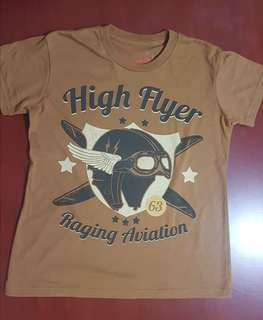 Burrp! Tees - High Flyer Raging Aviation Shirt for Ladies