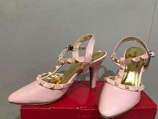 Preloved Heels valentino (pink soft)