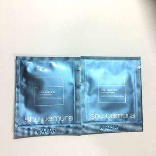 🌟shu uemura Maxi Hydrability Cream Sample 面霜