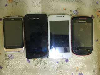 Android phone lama Faulty(tak boleh on)HTC,Samsung,TSM