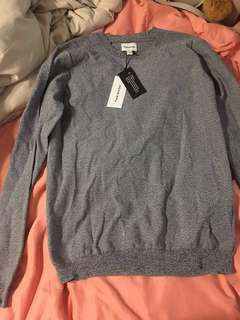 Frank and Oak light sweater size small