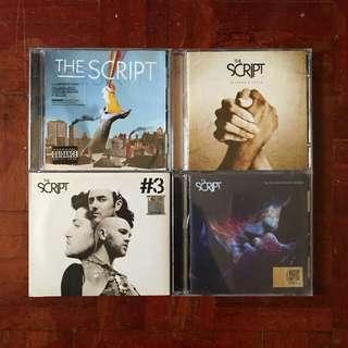 The Script CD Albums
