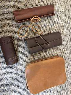 This Is Ground leather items