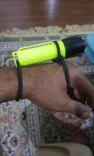 Scuba diving torch light
