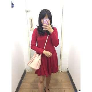 Dress merah just d'orange