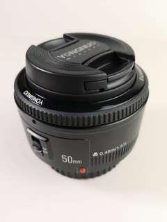 Yong Nuo 50mm F1.8 AF canon mount
