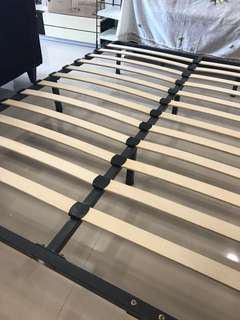 Queen bed bed frame