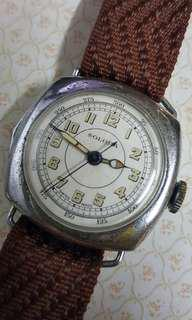Vintage Solora  chronograph  watch 古董錶