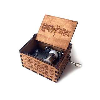 Harry Potter Music Box and Time Turner Necklace
