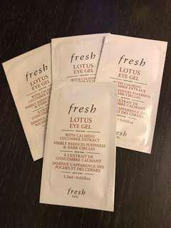 fresh  Lotus eye gel 1.5ml x 4pcs